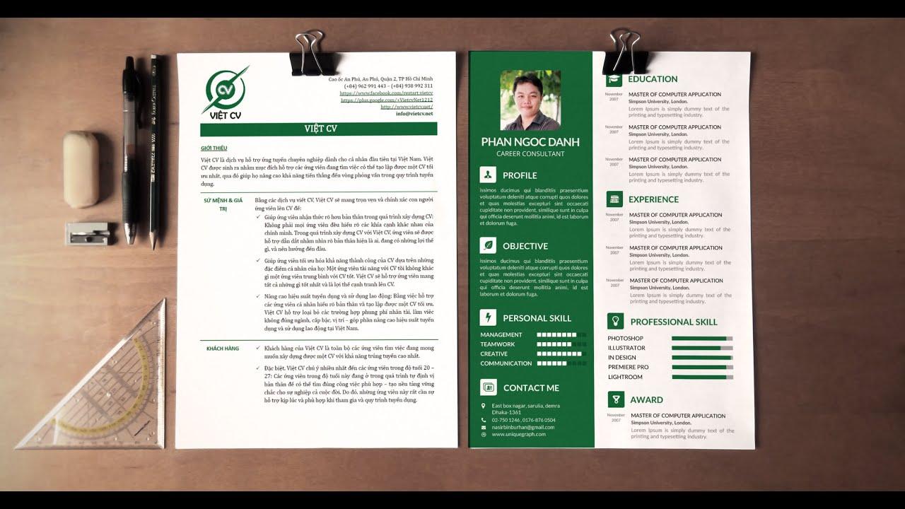 Dịch Vụ Viết CV, Cover Letter, Tư Vấn Tuyển Dụng