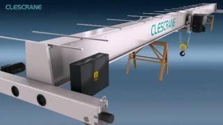Как установить однобалочный мостовой кран? - сборку концевых балков, сборку тельфера(Clescrane может поставит Вам специальную монтажную услугу кранового оборудования. Здесь можете посмотреть..., 2016-07-25T05:29:04.000Z)