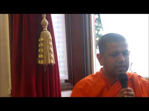 Sri Sambodhi meditation centre - London, Mal Poojawa.