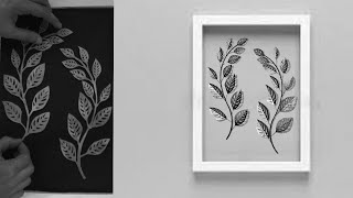 Easy Paper Craft | Wall Decoration Ideas