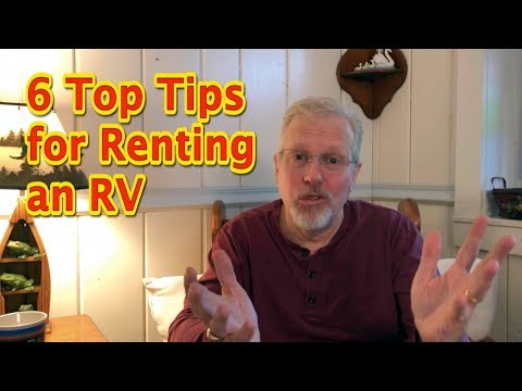 6 Top Tips for Renting an RV