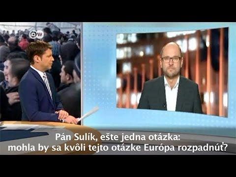 Utečenecká politika Nemecka | Richard Sulík pre Deutsche Welle