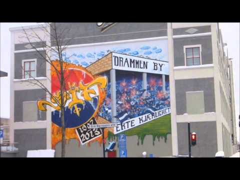 Around Drammen January 2014