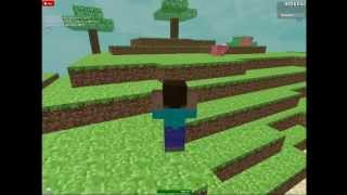 My place Minecraft Roleplay on ROBLOX