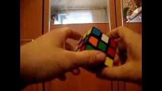 Видео урок по сборке кубика рубика 3x3 часть 2