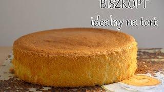 SERIA BISZKOPT #1 - Jak zrobić tradycyjny biszkopt BEZ PROSZKU DO PIECZENIA