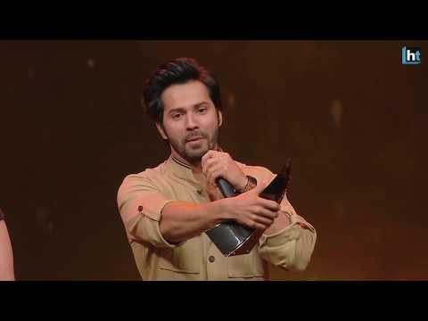 HT India's Most Stylish 2018 || Varun Dhawan wins the Most Stylish Youth Icon (Male) Award