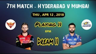 mi vs srh ipl playerzpot