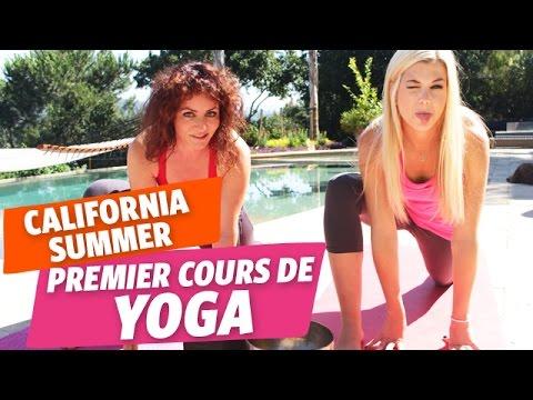 california summer 7 premier cours de yoga avec marie et val rie m thode anti stress youtube. Black Bedroom Furniture Sets. Home Design Ideas