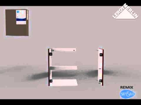 monter les meubles de salle de bains remix youtube. Black Bedroom Furniture Sets. Home Design Ideas