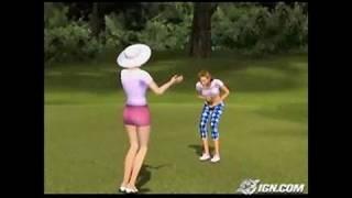 Outlaw Golf 2 Xbox Gameplay - Meet Trixie.