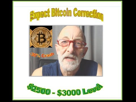 Web Bot , Clif High Expect Major Correction in Bitcoin Price ($2500-$3000). After - $13,000