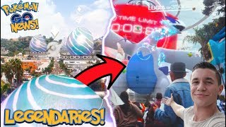 LEGENDARY POKÉMON ARE OFFICIALLY HERE IN POKÉMON GO! NEW LEGENDARY RAIDS FINALLY ANNOUNCED!