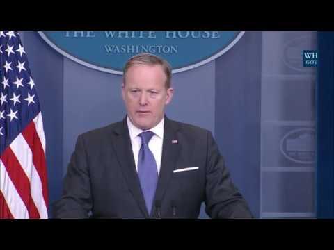 Mar 13, 2017 Sean Spicer White House Press Briefing-Full Event