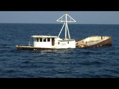 American Marine Group Sinking Fishing Boat