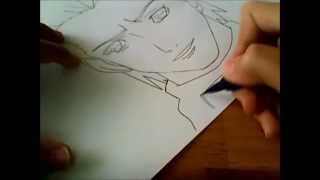 How to draw Hidan