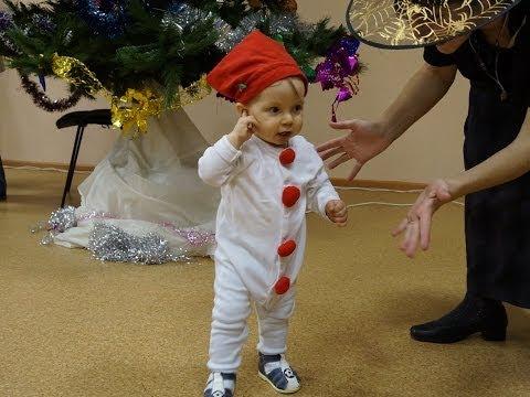 Снеговик костюм на Новый год своими руками)))Стихи Тани МаТани