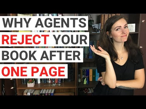 Why Literary Agents & Editors REJECT a Book After the FIRST PAGE: 7 Red Flags   PART 1   iWriterly