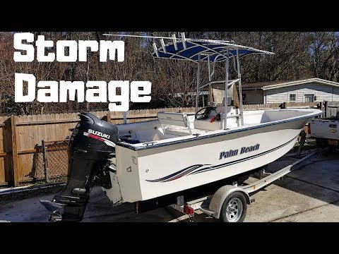 HURRICANE STORM Damage BOAT Purchased At Insurance Auto Auctions CHEAP! | IAAI |