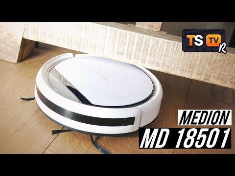 medion-saugroboter-md-18501-18500-test-(deutsch)-►-flach,-günstig,-mit-wischfunktion!