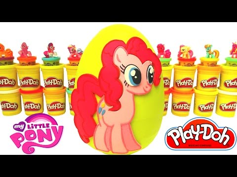 MLP Pinkie Pie Sürpriz Yumurta Oyun Hamuru - My Little Pony Cicibiciler Minions Tokidoki Barbie
