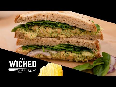 Vegan Chickpea Salad Sandwich | The Wicked Kitchen
