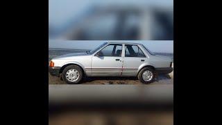 Видео обзор на машину Ford Orion 1.6 1987 года выпуска/бензин
