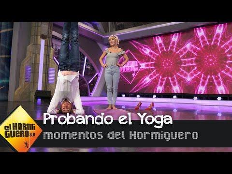 Aprende a hacer yoga con Elsa Pataky - El Hormiguero 3.0