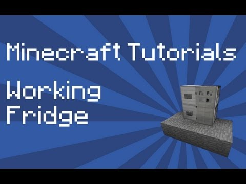 minecraft how to make fridge