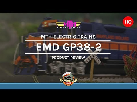 HO Scale MTH EMD GP38-2