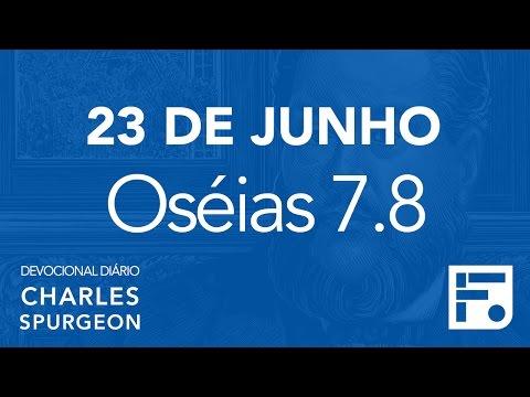 23 de junho - Devocional Diário CHARLES SPURGEON #175