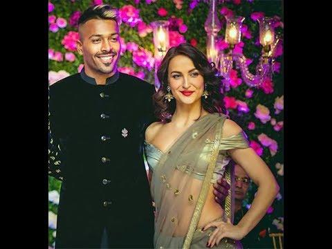 Rumoured Couple Hardik Pandya And Elli AvrRam Spotted Together