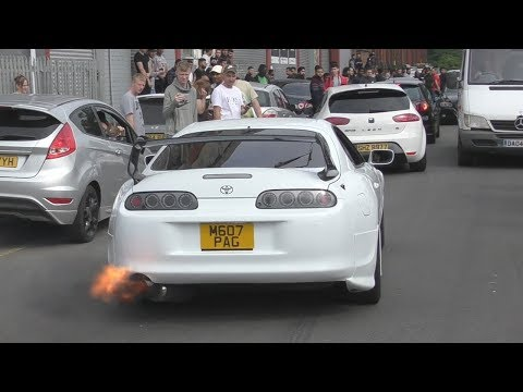The Toyota Supra is a crowd pleaser!