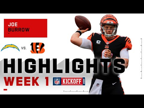 Every Throw & Run from Joe Burrow's NFL Debut | NFL 2020 Highlights