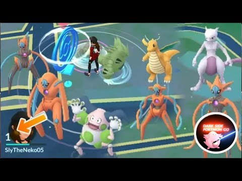 Download level 1 rare pokemon, level 5 getting all Deoxy form, level 15 perfect mewtwo