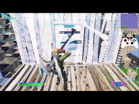 Quick and easy editing tips for beginners! + some build tips - Controller - Fortnite Battle Royale