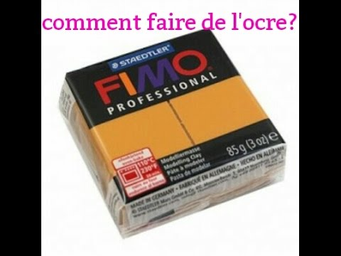 Comment faire de l 39 ocre en fimo youtube - Comment faire une soudure a l etain ...