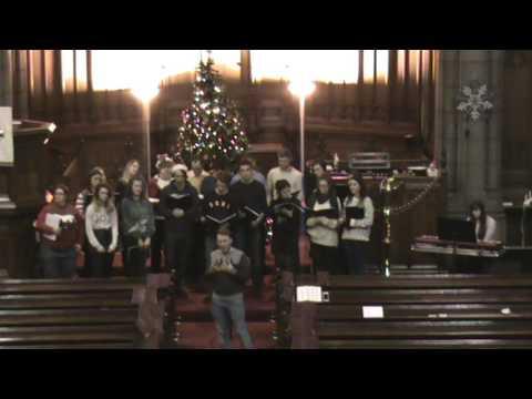 Carol singing in Saint Columba Part 2