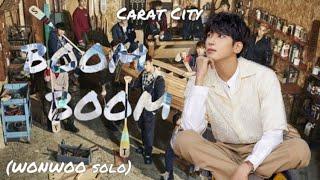 [세븐틴 커버 보컬 팀 Carat City] 세븐틴 (SEVENTEEN) - BOOM BOOM (WONWOO…