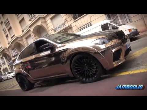 Gold Chrome Ac Schnitzer Bmw X6m Falcon Loud Acceleration Bmw I8