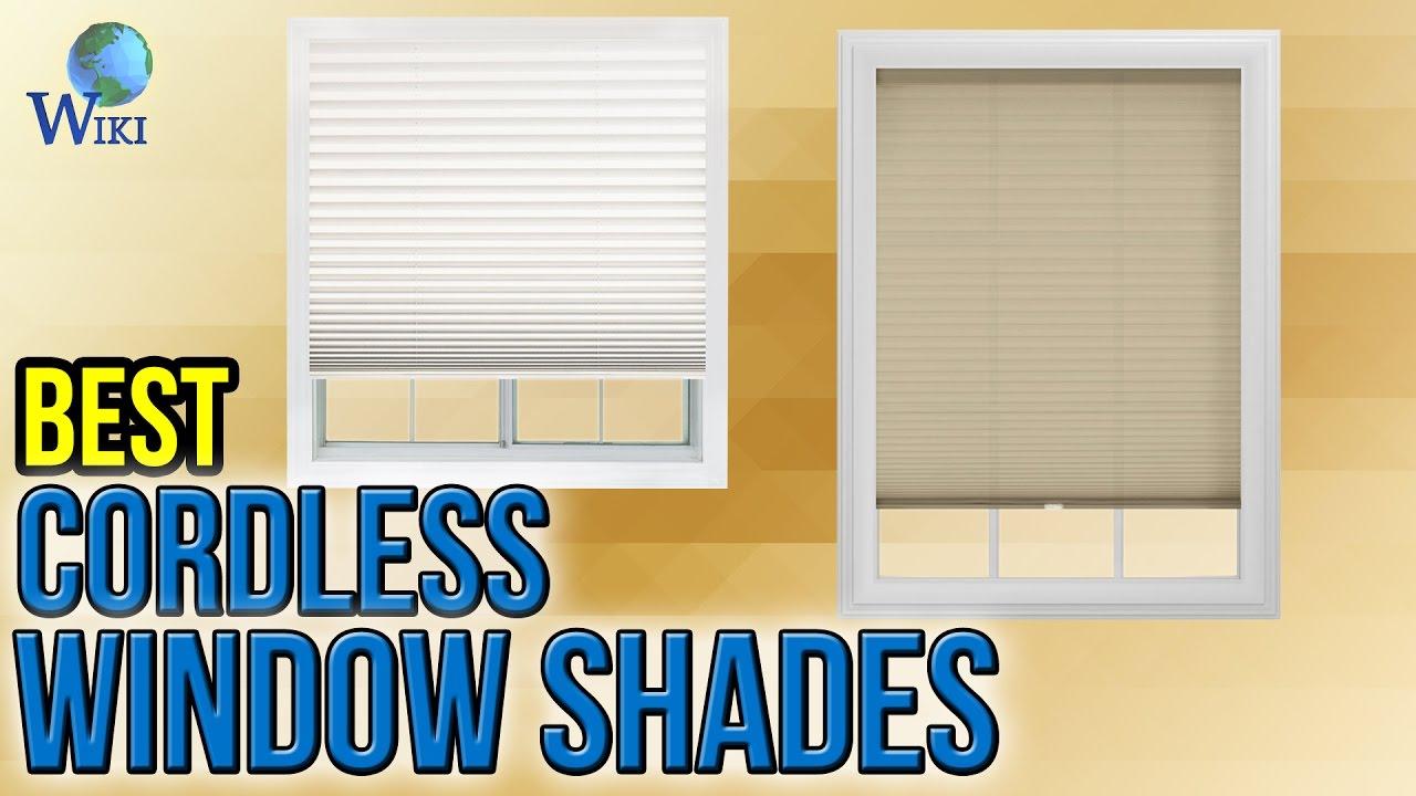 cordless window shades contemporary bedroom best cordless window shades 2017 youtube