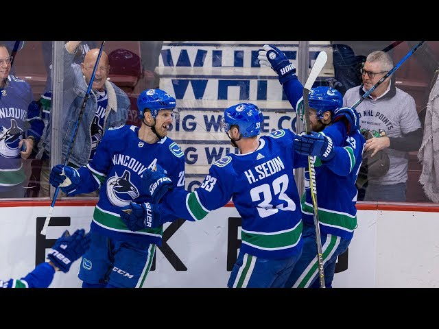 Sedin twins' magical final game in Vancouver