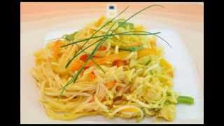 How To Make Recipe Asian Style Rice Noodles, Quick And Easy Noodles With Chicken And Vegies, Rokco