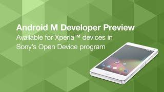 شاهد النسخة التجريبية من Android M تعمل على هاتف سوني Xperia Z3 compact