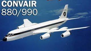 Convair 880/990 Coronado - too fast airliner