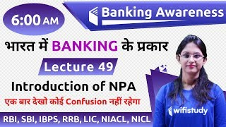 Gambar cover 6:00 AM - Banking Awareness by Sushmita Ma'am | Introduction of NPA