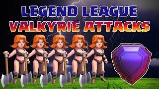 Clash of Clans | Legend League TH11 VALKYRIE Attacks | Legenden Liga RH11 WALKÜREN Angriffe Part 5