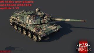 New vehicles of update 1.77 (Warthunder)