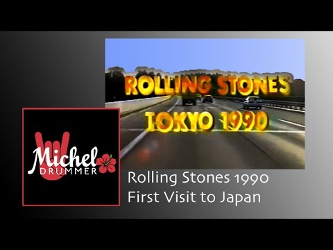 The Rolling Stones初来日ドキュメント1990 (Rare Footage from Japan!)