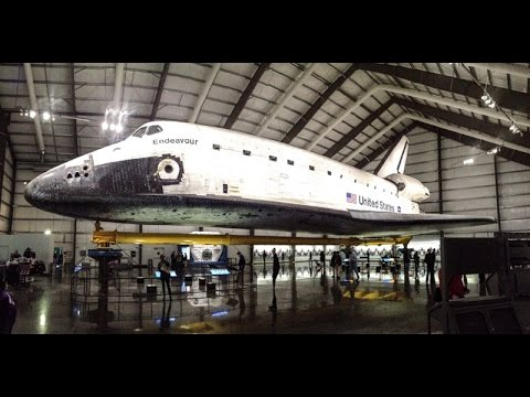 Space Shuttle Endeavour at California Science Center in Los